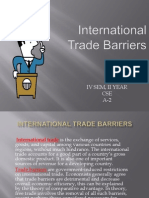 trade barrier ppt