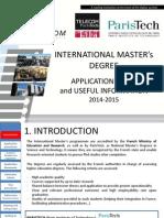 Application Guide Master International