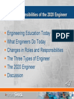 Roles and Responsibilities of The2020 Engineer2