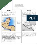 Los Mayas y Los Aztecas