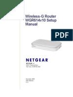 WGR614v10 Setup Manual