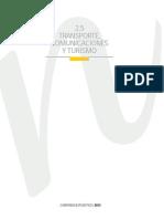 Transporte Comunicaciones Turismo