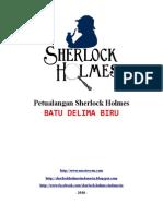 Petualangan Sherlock Holmes - Batu Delima Biru
