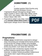 Filsej - Filsafat Pragmatisme