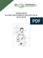 Marichem Instruction Book