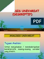Analisis Univariat (Deskriptif)