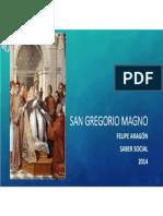 Unidad 3 San Gregorio Magno - Felipe Aragón