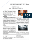 3.Segmental Resection Reconstruction of Unicystic Ameloblastoma of Mandible a Case Report