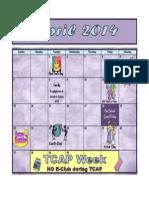 4 April Calendar