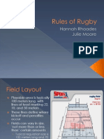 rules of rugby portfolio artifact