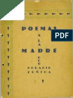 Horacio Zúñiga. 3 poemas a la madre