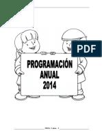 PROGRAMACIÓN ANUAL INICIAL 3 AÑOS - 2014