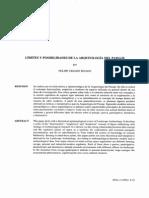 Criado Boado 1993 Limites y Posibilidades de La Arqueologia de Paisajes