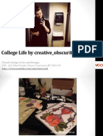 Life at VCAD on Instagram by creative_obscurities in Vancouver, British Columbia