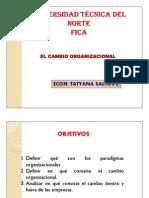 El Cambio Organizacional 1