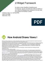 Android Widget Framework