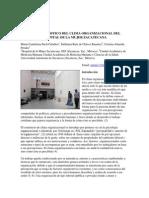 DIAGNÓSTICO DEL CLIMA ORGANIZACIONAL DEL HOSPITAL DE LA MUJER ZACATECANA