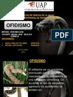OFIDISMO EPIDEMIOLOGIA