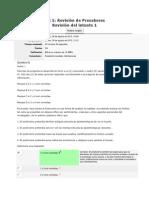 Sociologia Revision de Presaberes