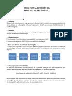 MANUAL PARA LA OBTENCIÓN DEL CERTIFICADO DE SELLO DIGITAL