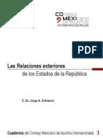 Las Relaciones Exteriores - De Los Estados de La Republica