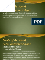 6 Mode of Action of Local Anesthetic Agents