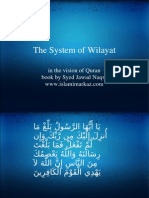 The System of Wilayat
