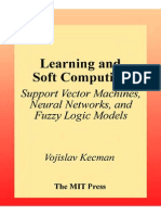 36036365 Kecman v Learning and Soft Computing Support Vector Machines Neural Networks and Fuzzy Logic