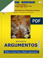 Revista Argumentos No 6