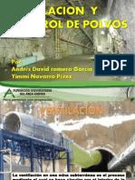 Ventilacion y Control de Polvos