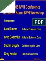 Structure Borne Noise