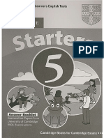 Starters 5 Answer Key