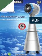 Lava Aire Italia - Aviator Misting Fan - Owners Manual