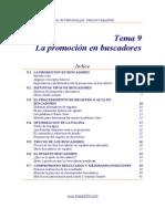 9 - La promoción en buscadores