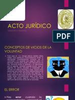 Acto Juridico Exposicion