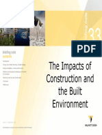 Mediu - The Impacts of Construction