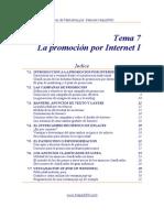 7 - La promoción por Internet I