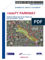 Trinity Parkway FEIS Cover and Summary