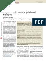 Computational Biologist 2013