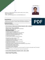 Md. Nazrul Islam CV
