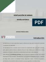 01 Capitulo 01 - Ventilación de Minas - Reseña Historica