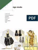 Fashion Sketch Portfolio