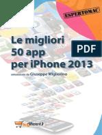 50 App iPhone 2013