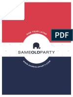 "DNC ""Same Old Party"" Report"