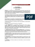 Ley de Procedimiento Administrativo Del Estado de Quintana Roo