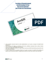 Enregistrement Arcgis 10 Fixe Avec Internet Sans Prvc