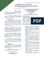R. N 016-2004-CONSUCODE PRE - TUO Del Reglamento Del Sistema Nacional de Arbitraje