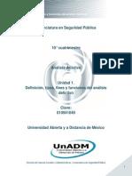 Unidad 1. Definicion, Tipos, Fines