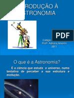 INTRODUÇÃO À ASTRONOMIA 6ano