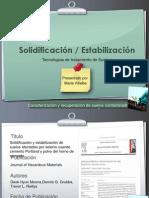 Presentación Solidificación estabilizacion CRSC